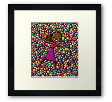 """""""Surrounded By Joy"""" Framed Print"""