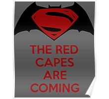 The Red Capes Are Coming Poster