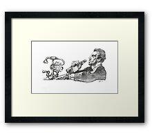 Doctor Gregory House Framed Print