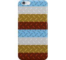 Four Color Diamond Plate design iPhone Case/Skin