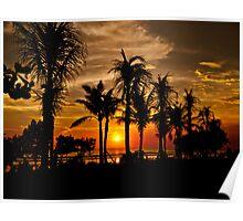 Bali Sunset. Poster