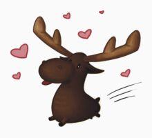 Lovestruck Moose by A Girl of  Many Fandoms