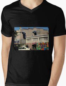 The Back Entrance Mens V-Neck T-Shirt