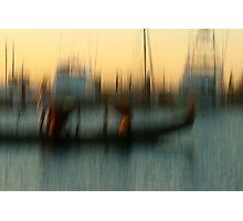 Cruising gondolier Photographic Print