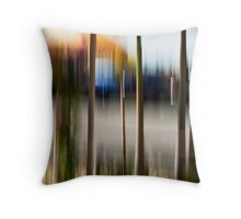 Cafe umbrellas #03 Throw Pillow