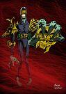 Judge Death - Colour by Michael Lee