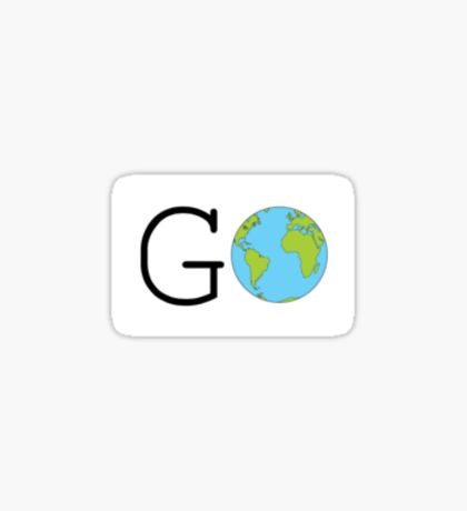 Go Earth Sticker