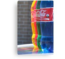 """Colourfull Coke"" Canvas Print"