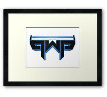 Pro Wrestling Ponderings Framed Print