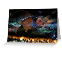 ©DA P02A14 Electromagnetic Fields ABD Greeting Card