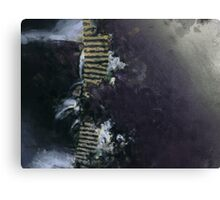 the ladder up Canvas Print