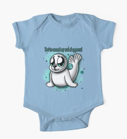 """""""You've Earned My Seal of Approval"""" One Piece - Short Sleeve"""