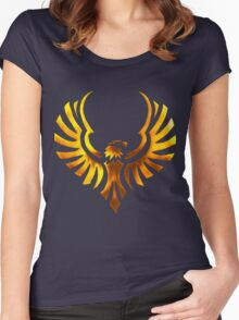 Phoenix - Golden Women's Fitted Scoop T-Shirt