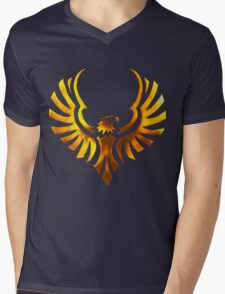 Phoenix - Golden Mens V-Neck T-Shirt