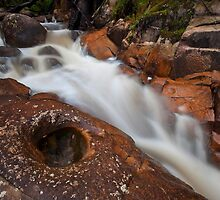 Murrindindi Cascades by Travis Easton