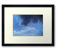 ©HCS Blue Layers IA Framed Print