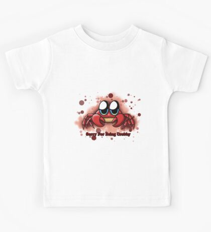 """Sorry For Being Crabby"" Kids Tee"