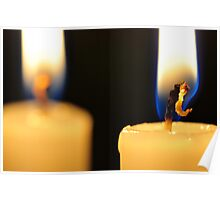 Candle Light Dinner For Two Poster