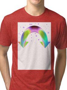 Rainbow Reactive Tri-blend T-Shirt