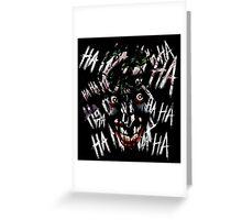 Joker - HAHAHAHAHA Greeting Card