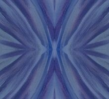 Abstract Blue Pattern by LegendOfZeldy