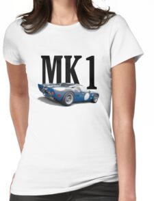 1965 Ford GT40 - MK1 302 Le Mans Womens Fitted T-Shirt