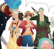 Straw Hat Crew - One piece Sticker