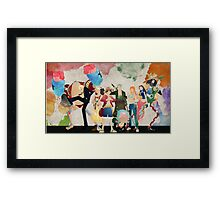 Straw Hat Crew - One piece Framed Print