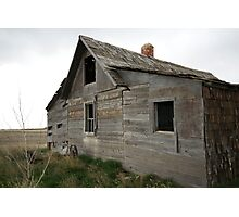 Old Wooden Farmhouse Photographic Print