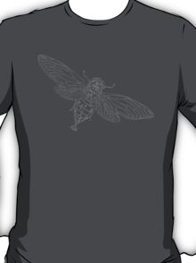 Steampunk Entomology Mecha-bee white T-Shirt