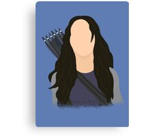 Vector Katniss Canvas Print