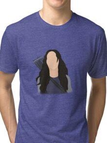 Vector Katniss Tri-blend T-Shirt