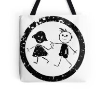 Beautiful kids stamp Tote Bag