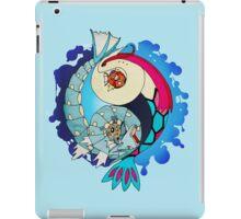 Paint-Splattered Aquatic Yin Yang - Milotic & Gyarados iPad Case/Skin