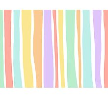 Streaks of Color Photographic Print