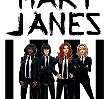 The Mary Janes by terasart
