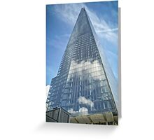 The Sky in The Shard Greeting Card
