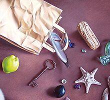 """""""Bag of treasures"""" - close-up detail by Elena Kolotusha"""