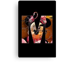M is for minnie Canvas Print