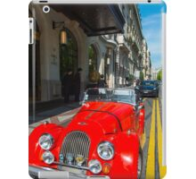 Morgan sports car iPad Case/Skin