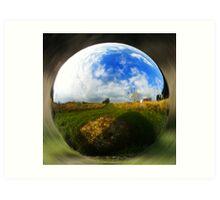Spherical object Art Print