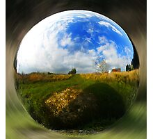 Spherical object Photographic Print