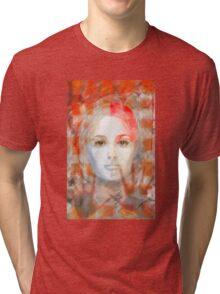 The passage fragment - she Tri-blend T-Shirt