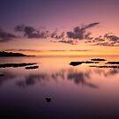 Lake Superior, North Shore, Sunrise. by Michael Treloar
