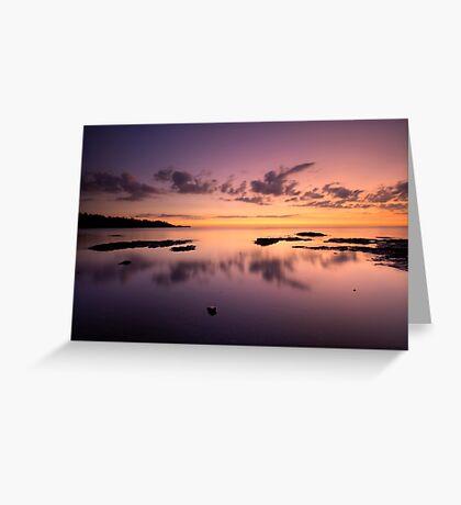 Lake Superior, North Shore, Sunrise. Greeting Card