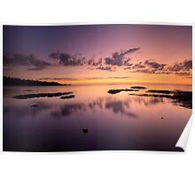 Lake Superior, North Shore, Sunrise. Poster