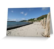 Tresco Sea View Greeting Card