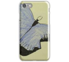 Purple Butterfly iPhone Case/Skin