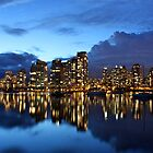 First Vancouver Skyline by Jun Song