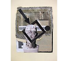 Boxes, barcode and brains...graphic frame of mind Photographic Print